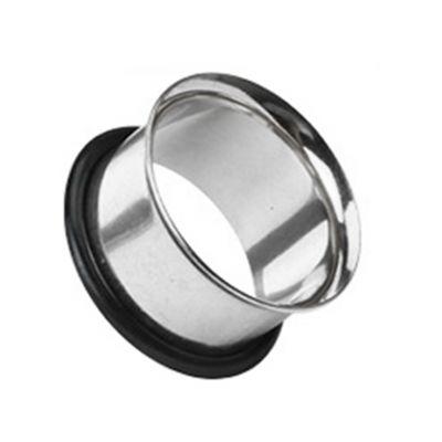 Tunnel af kirurgisk stål med o-ring